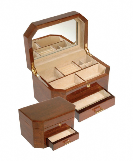 Ladies Jewellery Box with drawer.